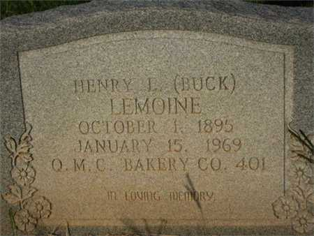 "LEMOINE, HENRY LESTON ""BUCK""  (VETERAN WWI) - Grant County, Louisiana 