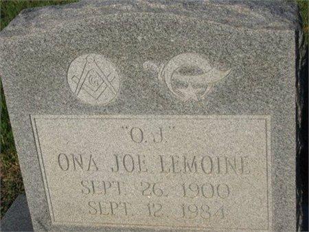 LEMOINE, ONA JOE - Grant County, Louisiana   ONA JOE LEMOINE - Louisiana Gravestone Photos