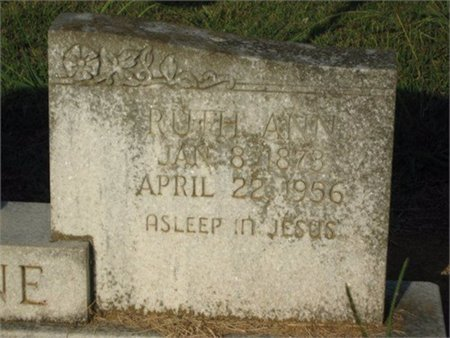 LEMOINE, RUTH ANN (CLOSE UP) - Grant County, Louisiana | RUTH ANN (CLOSE UP) LEMOINE - Louisiana Gravestone Photos