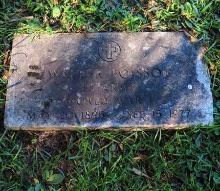 POISSOT, WALTER (VETERAN WWI) - Grant County, Louisiana   WALTER (VETERAN WWI) POISSOT - Louisiana Gravestone Photos