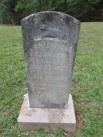 SLAYTER, JAMES OSCOR - Grant County, Louisiana | JAMES OSCOR SLAYTER - Louisiana Gravestone Photos