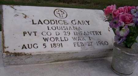 GARY, LAODICE (VETERAN WW1) - Iberia County, Louisiana   LAODICE (VETERAN WW1) GARY - Louisiana Gravestone Photos