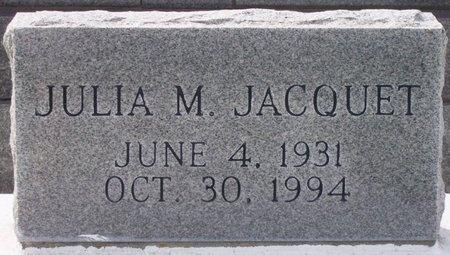 JACQUET, JULIA MAE - Iberia County, Louisiana | JULIA MAE JACQUET - Louisiana Gravestone Photos