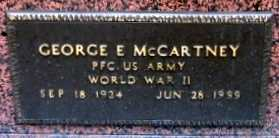 MCCARTNEY, GEORGE  E (VETERAN WWII) - Iberia County, Louisiana | GEORGE  E (VETERAN WWII) MCCARTNEY - Louisiana Gravestone Photos