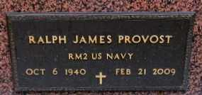 PROVOST, RALPH JAMES (VETERAN_ - Iberia County, Louisiana | RALPH JAMES (VETERAN_ PROVOST - Louisiana Gravestone Photos