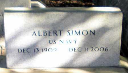 SIMON, ALBERT (VETERAN) - Iberia County, Louisiana   ALBERT (VETERAN) SIMON - Louisiana Gravestone Photos
