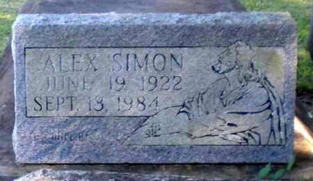SIMON, ALEX - Iberia County, Louisiana | ALEX SIMON - Louisiana Gravestone Photos