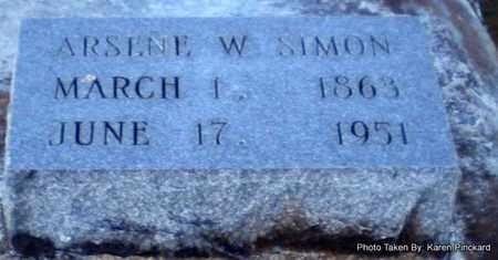 SIMON, ARSENE W - Iberia County, Louisiana | ARSENE W SIMON - Louisiana Gravestone Photos
