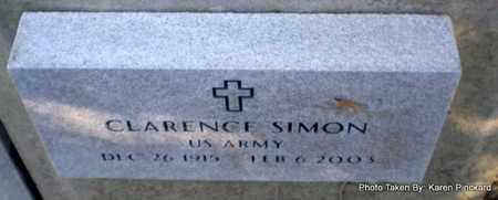 SIMON, CLARENCE (VETERAN) - Iberia County, Louisiana | CLARENCE (VETERAN) SIMON - Louisiana Gravestone Photos