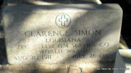 SIMON, CLARENCE (VETERAN WWII) - Iberia County, Louisiana | CLARENCE (VETERAN WWII) SIMON - Louisiana Gravestone Photos