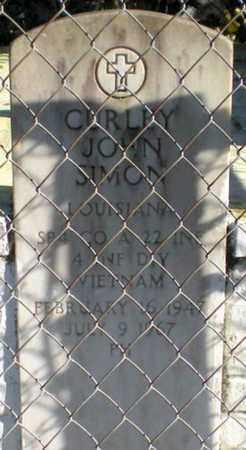SIMON, CURLEY JOHN  (VETERAN VIET, KIA) - Iberia County, Louisiana | CURLEY JOHN  (VETERAN VIET, KIA) SIMON - Louisiana Gravestone Photos