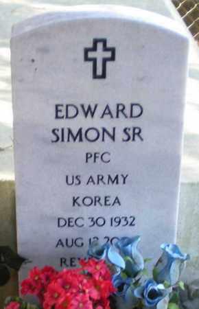 SIMON, EDWARD, SR - Iberia County, Louisiana   EDWARD, SR SIMON - Louisiana Gravestone Photos
