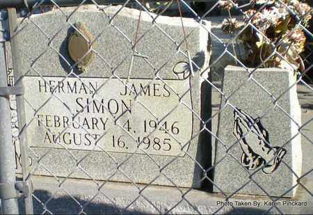 SIMON, HERMAN JAMES - Iberia County, Louisiana | HERMAN JAMES SIMON - Louisiana Gravestone Photos