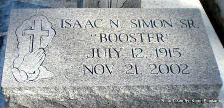 "SIMON, ISAAC N, SR  ""BOOSTER"" - Iberia County, Louisiana | ISAAC N, SR  ""BOOSTER"" SIMON - Louisiana Gravestone Photos"