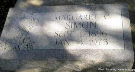 SIMON, MARGARET C - Iberia County, Louisiana | MARGARET C SIMON - Louisiana Gravestone Photos