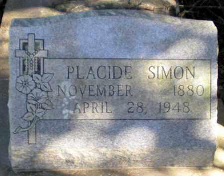 SIMON, PLACIDE - Iberia County, Louisiana | PLACIDE SIMON - Louisiana Gravestone Photos