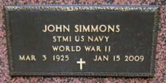 SIMONS, JOHN (VETERAN WWII) - Iberia County, Louisiana | JOHN (VETERAN WWII) SIMONS - Louisiana Gravestone Photos