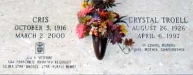 TROELL, CHRIS (VETERAN WWII) - Iberia County, Louisiana | CHRIS (VETERAN WWII) TROELL - Louisiana Gravestone Photos