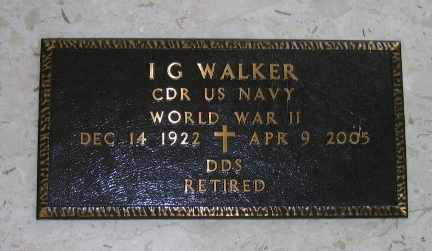 WALKER, I G (VETERAN WWII) - Iberia County, Louisiana | I G (VETERAN WWII) WALKER - Louisiana Gravestone Photos