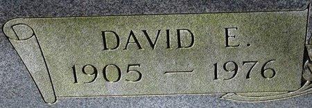 DUCK, DAVID  E (CLOSEUP) - Jackson County, Louisiana | DAVID  E (CLOSEUP) DUCK - Louisiana Gravestone Photos