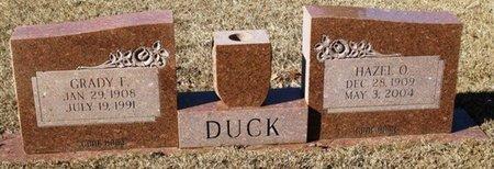 DUCK, GRADY F. - Jackson County, Louisiana | GRADY F. DUCK - Louisiana Gravestone Photos