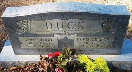 DUCK, JAMES HENRY - Jackson County, Louisiana | JAMES HENRY DUCK - Louisiana Gravestone Photos