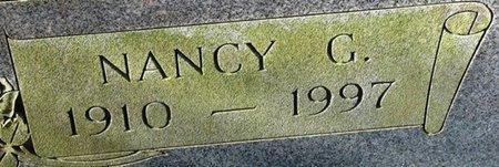 DUCK, NANCY G (CLOSEUP) - Jackson County, Louisiana | NANCY G (CLOSEUP) DUCK - Louisiana Gravestone Photos