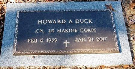 DUCK, HOWARD A  (VETERAN) - Jackson County, Louisiana | HOWARD A  (VETERAN) DUCK - Louisiana Gravestone Photos