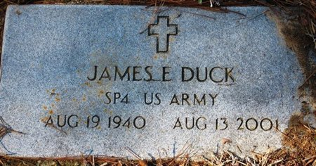 DUCK, JAMES E  (VETERAN) - Jackson County, Louisiana | JAMES E  (VETERAN) DUCK - Louisiana Gravestone Photos