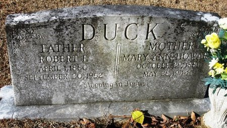 DUCK, ROBERT F - Jackson County, Louisiana | ROBERT F DUCK - Louisiana Gravestone Photos