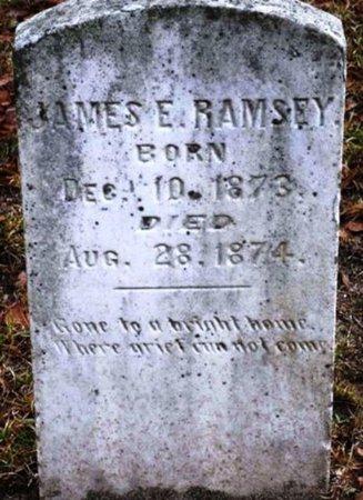 RAMSEY, JAMES E - Jackson County, Louisiana   JAMES E RAMSEY - Louisiana Gravestone Photos