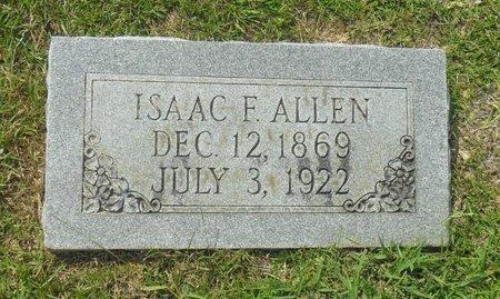 ALLEN, ISAAC FULDEN - La Salle County, Louisiana   ISAAC FULDEN ALLEN - Louisiana Gravestone Photos