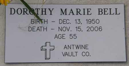 BELL, DOROTHY MARIE - La Salle County, Louisiana   DOROTHY MARIE BELL - Louisiana Gravestone Photos