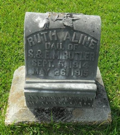 BUTLER, RUTH ALINE - La Salle County, Louisiana | RUTH ALINE BUTLER - Louisiana Gravestone Photos