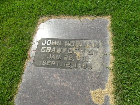 CRAWFORD, JOHN NORMAN JR. - La Salle County, Louisiana | JOHN NORMAN JR. CRAWFORD - Louisiana Gravestone Photos