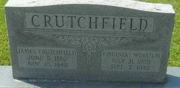 CRUTCHFIELD, VIRGINIA - La Salle County, Louisiana | VIRGINIA CRUTCHFIELD - Louisiana Gravestone Photos