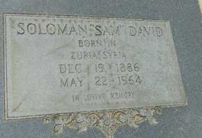 DAVID, SOLOMAN (SAM) - La Salle County, Louisiana | SOLOMAN (SAM) DAVID - Louisiana Gravestone Photos