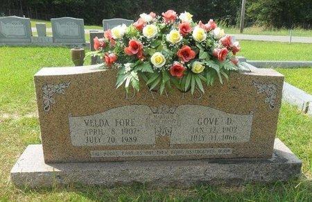 DAVIS, VELDA - La Salle County, Louisiana | VELDA DAVIS - Louisiana Gravestone Photos