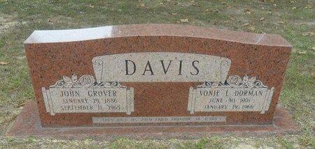 DAVIS, VONIE LAURA - La Salle County, Louisiana | VONIE LAURA DAVIS - Louisiana Gravestone Photos