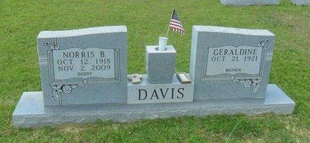 DAVIS, NORRIS BENARD - La Salle County, Louisiana | NORRIS BENARD DAVIS - Louisiana Gravestone Photos