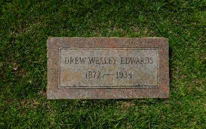 EDWARDS, DREW WESLEY - La Salle County, Louisiana | DREW WESLEY EDWARDS - Louisiana Gravestone Photos