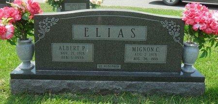 ELIAS, MIGNON - La Salle County, Louisiana | MIGNON ELIAS - Louisiana Gravestone Photos