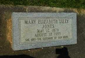 JONES, MARY ELIZABETH (LIZZY) - La Salle County, Louisiana | MARY ELIZABETH (LIZZY) JONES - Louisiana Gravestone Photos