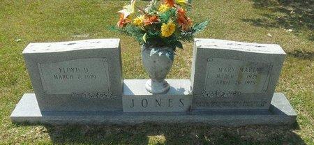JONES, MARY MARIA - La Salle County, Louisiana   MARY MARIA JONES - Louisiana Gravestone Photos