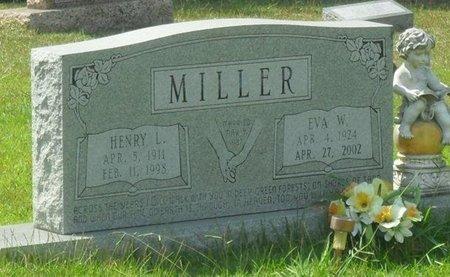 MILLER, EVA W - La Salle County, Louisiana | EVA W MILLER - Louisiana Gravestone Photos