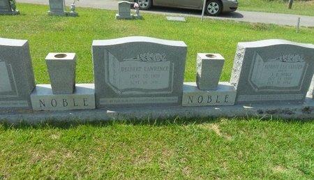 NOBLE, DELBERT LAWRENCE - La Salle County, Louisiana | DELBERT LAWRENCE NOBLE - Louisiana Gravestone Photos