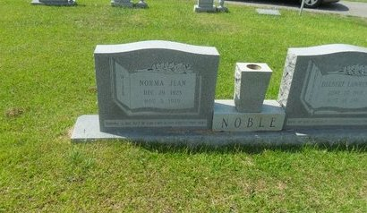 LANGE NOBLE, NORMA JEAN - La Salle County, Louisiana | NORMA JEAN LANGE NOBLE - Louisiana Gravestone Photos