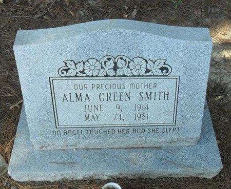 SMITH, ALMA - La Salle County, Louisiana | ALMA SMITH - Louisiana Gravestone Photos