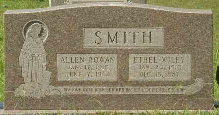SMITH, ALLEN ROWAN - La Salle County, Louisiana | ALLEN ROWAN SMITH - Louisiana Gravestone Photos
