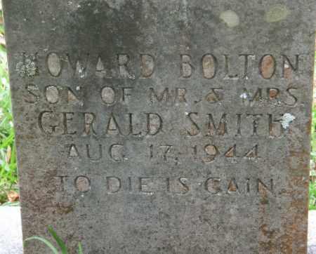 SMITH, HOWARD BOLTON - La Salle County, Louisiana | HOWARD BOLTON SMITH - Louisiana Gravestone Photos
